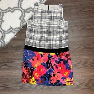 Loft Color Block Dress Size 6